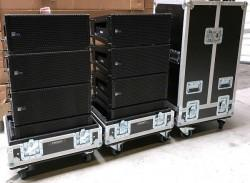 MINA Package of 08 units + 2  flightcase for 4 x MINA. Very Good Condition!!